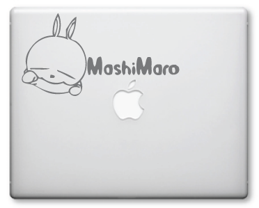 Mashimaro Decals / Stickers 9