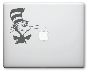 Cat In The Hat Decals / Stickers