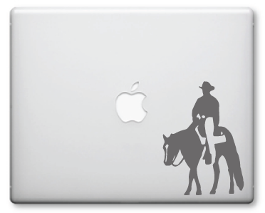 Cowboy Decals / Stickers 001