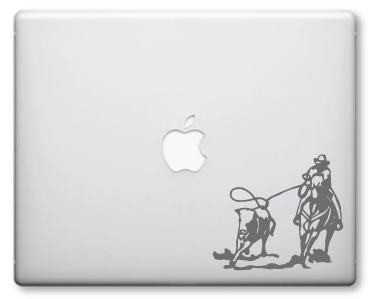 Cowboy Decals / Stickers 002