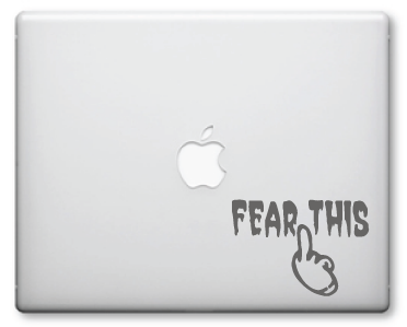 Fear This Decals / Stickers 001