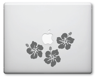 Hibiscus Decals / Stickers