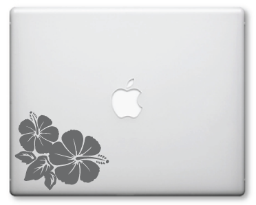 Hibiscus Decals / Stickers 2