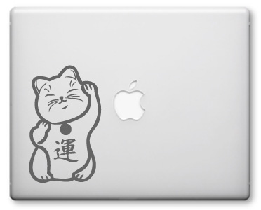 Maneki Neko Decals / Stickers 04