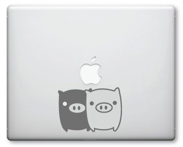 Monokuro Boo Decal / Stickers 7