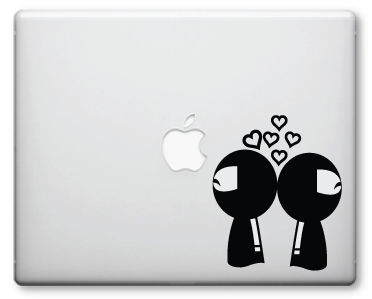 Ninja Love Decals / Stickers