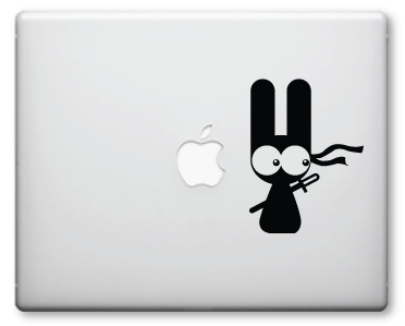 Ninja Rabbit Decals / Stickers