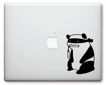 Ninja Panda Decals / Stickers