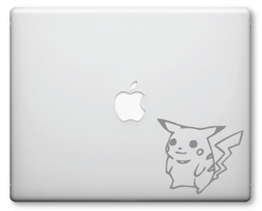 Pikachu Decals / Stickers