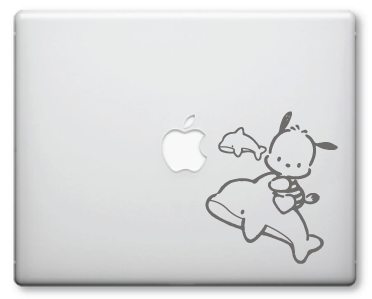 Pochacco Decals / Stickers 1a