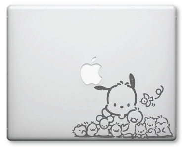 Pochacco Decals / Stickers 3a
