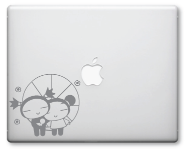 Pucca Decals / Stickers 9a