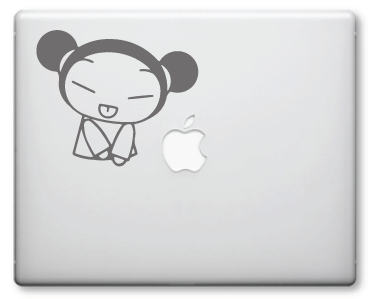 Pucca Decals / Stickers 10