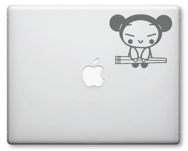 Pucca Decals / Stickers 3