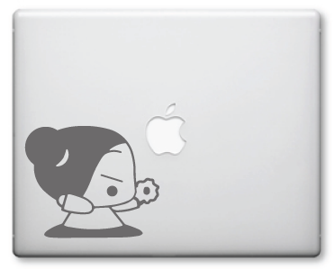 Pucca Decals / Stickers 4