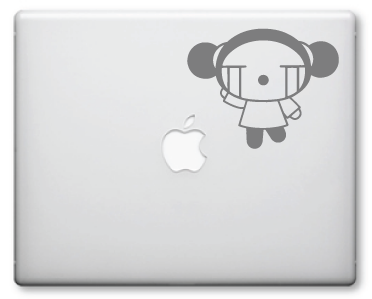 Pucca Decals / Stickers 8a