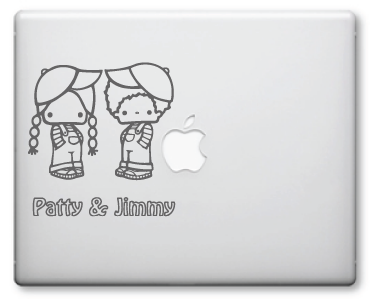 Jimmy & Patty Decals / Stickers 1a