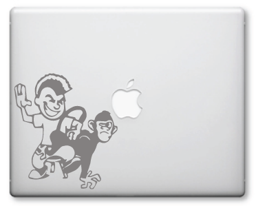Spank the Monkey Decals / Stickers