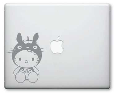 Hello Kitty Totoro Decal / Stickers 25